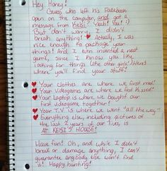 probably the best breakup letter ive ever seen nowaygirl humour el humor funny