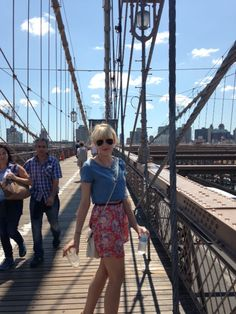 H&m , Brooklyn bridge, street style