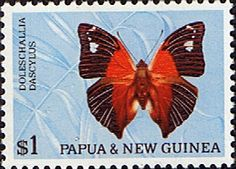 Papua New Guinea 1966 Butterflies SG 91 Fine Mint Scott 218 Other Butterfly Stamps HERE