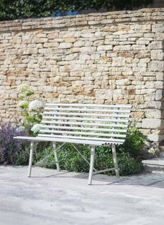 Our Battersea Bench in Clay is big on seaside style