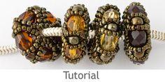Beaded Bead Tutorial - Charm Beads