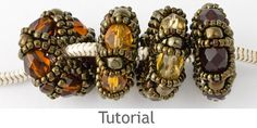 Beaded Bead Tutorial - Charm Beads