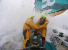"""""""Just out for a little day sail, I thought you said . . .""""    (Volvo Ocean Race)"""