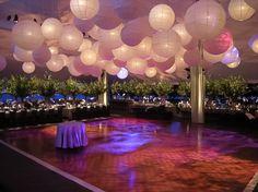 lampion salle de mariage