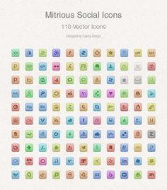Free Vector Social Media #Icons
