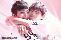 JHope and V