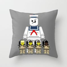 Ghostbusters  Throw Pillow by AWOwens - $20.00