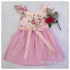A personal favourite from my Etsy shop https://www.etsy.com/au/listing/562893275/floral-pinafore-tutu-dress