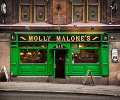 Molly Malone's Irish Bar, Helsinki, Finland.