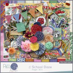 Personal Use :: Kits :: School Daze Page Kit #thestudio,  #NSDthestudio