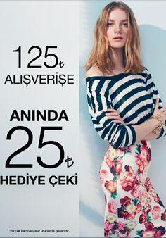Yeni sezonda kendini özel hissetmek isteyen tüm kadınlara, Batik'ten yapacakları 125 TL alışverişlerine 25 TL hediye çeki fırsatı!  #Bmigrosavm #fashion #woman