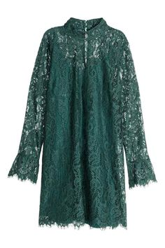 New party fashion women long sleeve ideas Kebaya Lace, Kebaya Dress, Green Lace Dresses, Dresses With Sleeves, Sleeve Dresses, Trendy Dresses, Casual Dresses, Dress Brokat, Party Mode