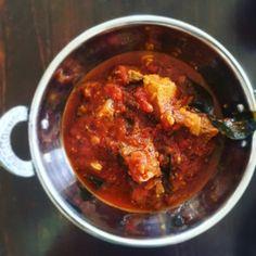 Lamb Madras with homemade Madras powder