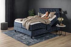 Odel Tind regulerbar kontinentalseng 180x200 › Odel seng › Fagmøbler Grey Bedding, Ikea, Industrial, Furniture, Color, Design, Home Decor, Bedroom, Gray Bedding