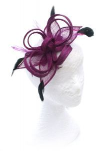 Grape Loops Fascinator  purple  fascinator 847af87ada5
