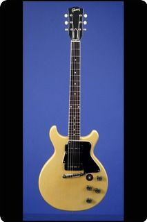 One of the Last of the Slab-Bodied Les Paul TV Specials   This featherweight guitar weighs just 6.90 lbs. and has a nice, fat nut width of 1 11/16 inches and a standard Gibson scale