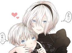 9S thinks 2B Cute (Kawaii), 2B thinks 9S Cute too