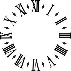 Encontrado en Google en pinterest.com Clock Art, Diy Clock, Clock Tattoo Design, Tattoo Designs, Tattoo Sketches, Tattoo Drawings, Clock Face Printable, Face Template, Clock Template