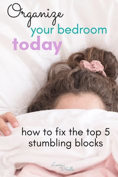 Organize your bedroom today and fix the top 5 mistakes almost everyone makes! Simple Living, Natural Living, House Cleaning Tips, Cleaning Hacks, Minimalist Parenting, Life Organization, Organizing, Bedroom Organization, Becoming Minimalist