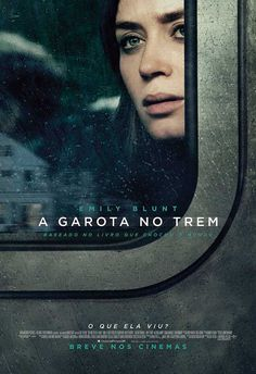 The Girl on the Train 2016 tagline What did she see directed by Tate Taylor starring Rebecca Ferguson Emily Blunt Haley Bennett Luke Evans Films Hd, Films Cinema, Cinema Posters, Hd Movies, Film Movie, Movies Online, Movies And Tv Shows, Movie Posters, 2017 Movies