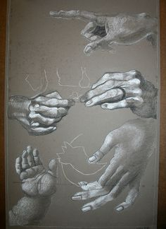 Hands from different angles