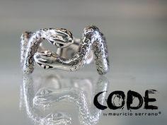 Anillo Serpiente, plata.925 Mauricio Serrano Jewelry