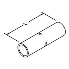 Copper Long-Barrel Connector, PK3 by 3M. $144.23. Copper L-Barrel Connector, Length 6.13 In., Cable Size Code 1000 kcmil