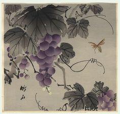 chikuseki 1900 - wasp and grapes