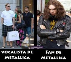 Vocalista y Fan de Metallica. #humor #risa #graciosas #chistosas #divertidas