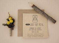 Creative wedding invites.  funny wedding invitation