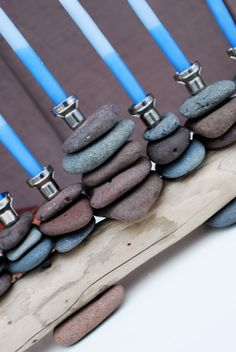 rock menorah