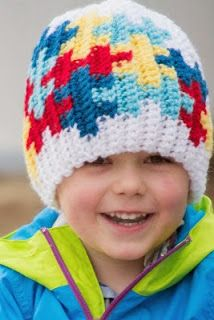 Free Crochet Patterns and Designs by LisaAuch: Free Autism Awareness Crochet Patterns.