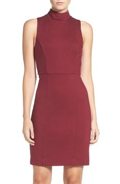 French Connection 'High Line Lula' Ponte Sheath Dress available at #Nordstrom