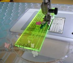"How to Get a Perfect 1/4"" Seam Allowance (from The Crafty Quilter)"