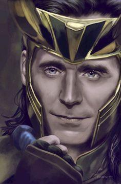 Love this art of Loki! Loki Thor, Tom Hiddleston Loki, Loki Laufeyson, Marvel Art, Marvel Movies, Marvel Avengers, Marvel Funny, Loki Art, Loki God Of Mischief