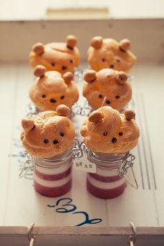 cute☆cream puff bears!