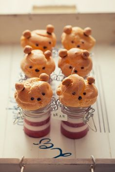 cute☆cream puff bears!