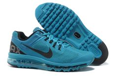 Nike Air Max 2013 Blue Glow Black Men's Shoes