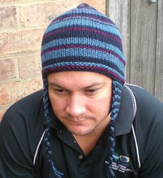 knitting patterns for boys beanies - Google Search