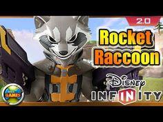 Disney Infinity 2.0 Rocket Raccoon Gameplay