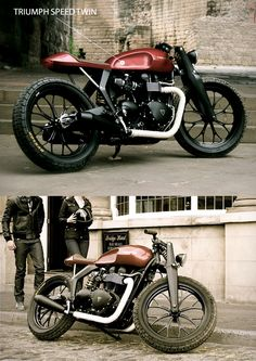 TRIUMPH SPEED TWIN | BY ROD & TODD DESIGN