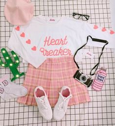 Pastel Outfit, Pink Outfits, Pretty Outfits, Cool Outfits, Casual Outfits, Pastel Goth Fashion, Kawaii Fashion, Cute Fashion, Girl Fashion