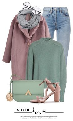"""Pastels"" by monmondefou ❤ liked on Polyvore featuring MANGO, Isabel Marant and pastelsweaters"