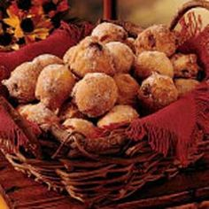 5 Star!   Cranberry Muffins - When cranberries are in season, I get this recipe out and make these tasty doughnuts. When my children were small, I'd usually double the recipe and sometimes the muffins would all be gone before they could cool.