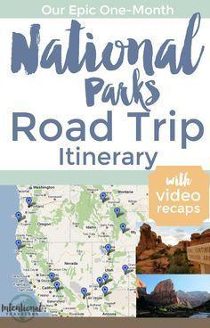 One month road trip itinerary through Oregon, Montana, Utah, Arizona, and California National Parks | Intentional Travelers