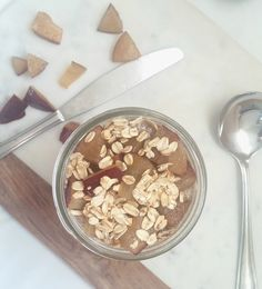 OVERNIGHT CHIA SEED PLUM PUDDING PARFAIT FROM THE SHG BLOG
