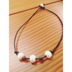 Freshwater Pearl Brown Rope Necklace by MadisonMillerBeads on Etsy, $45.00