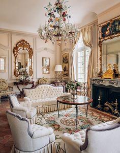 Drawing room - Room Setting Louis XV | via Mastour Galleries ...