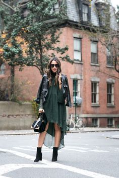 West Village :: Ruffled Dress & Suede boots