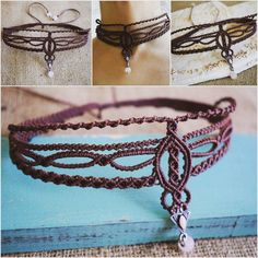 Ogrlica izrađena po Sarinoj želji #necklacegift #necklacechoker #rosequartz #handmadejewelry #crystalgems #jewelry #necklace #choker #madeorder #micromacrame #macramejewelry #magicknot